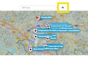 download de route naar uw GPS tracker